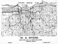 Mendon Township, Marquette, Clayton County 1950